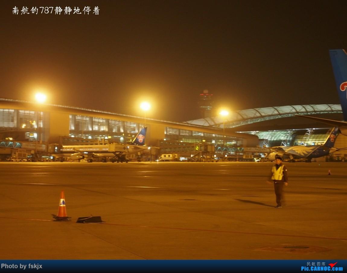 【fskjx的飞行游记☆12】北海银滩涠洲岛之旅 BOEING 787  中国广州白云国际机场