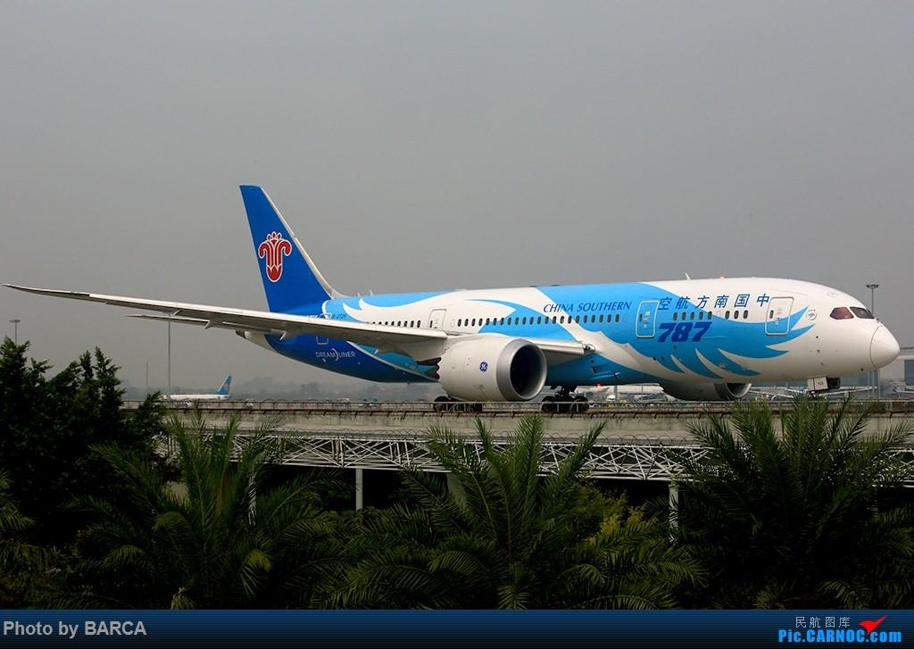 Re:[原创][广州新白云机场]CZ, ZH, ET, TK, MD, W5 BOEING 787-8 B-2725 中国广州白云国际机场