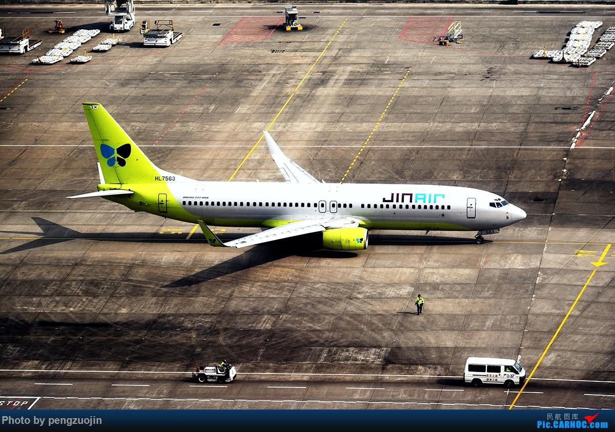 Re:[原创]【悍马】乱来点不正常的 BOEING 737-800 HL-7563