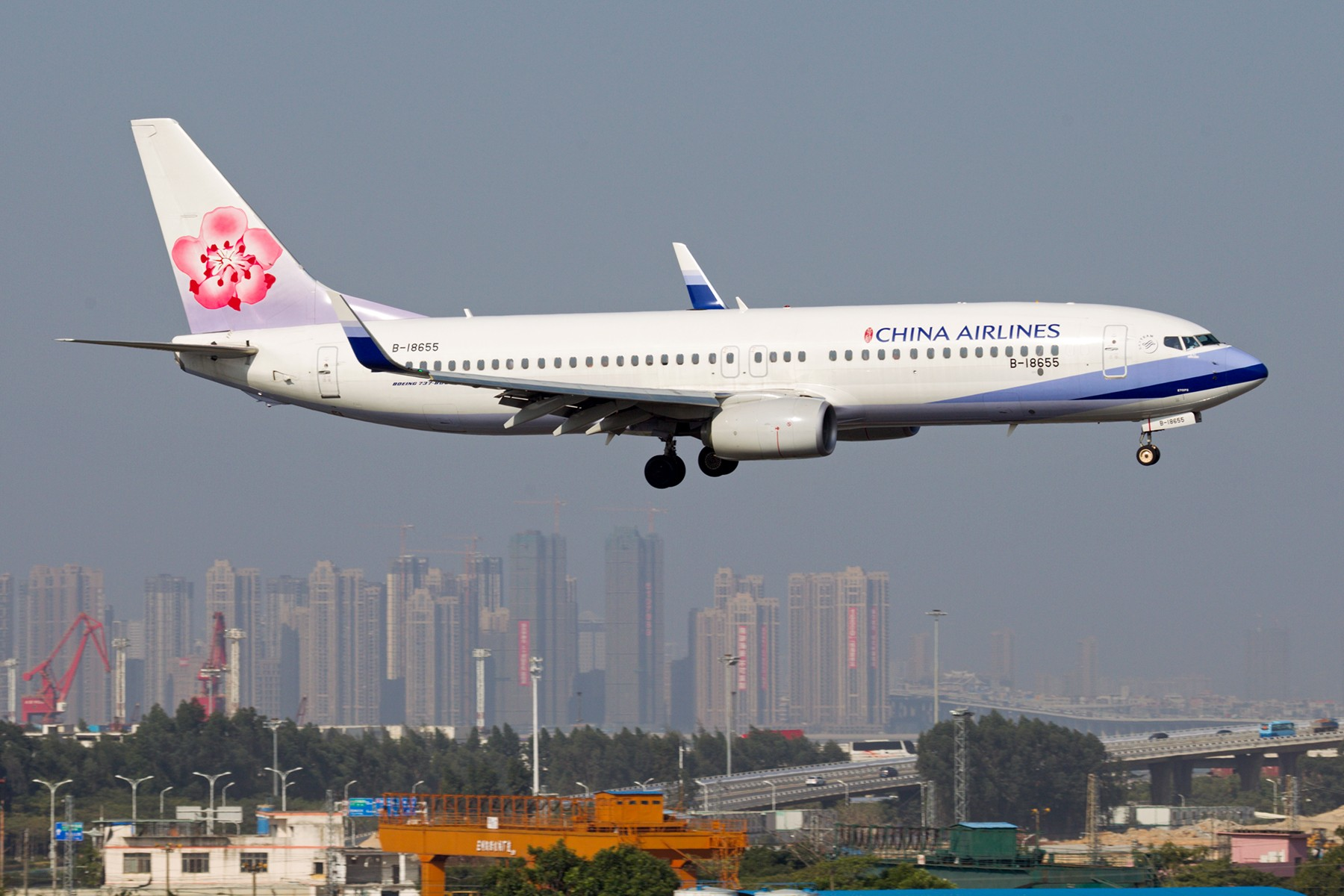 Re:【BLDDQ拖面条】******论坛贴图信息已恢复,大家可以正常发帖了****** BOEING 737-800 B-18655 中国厦门高崎国际机场