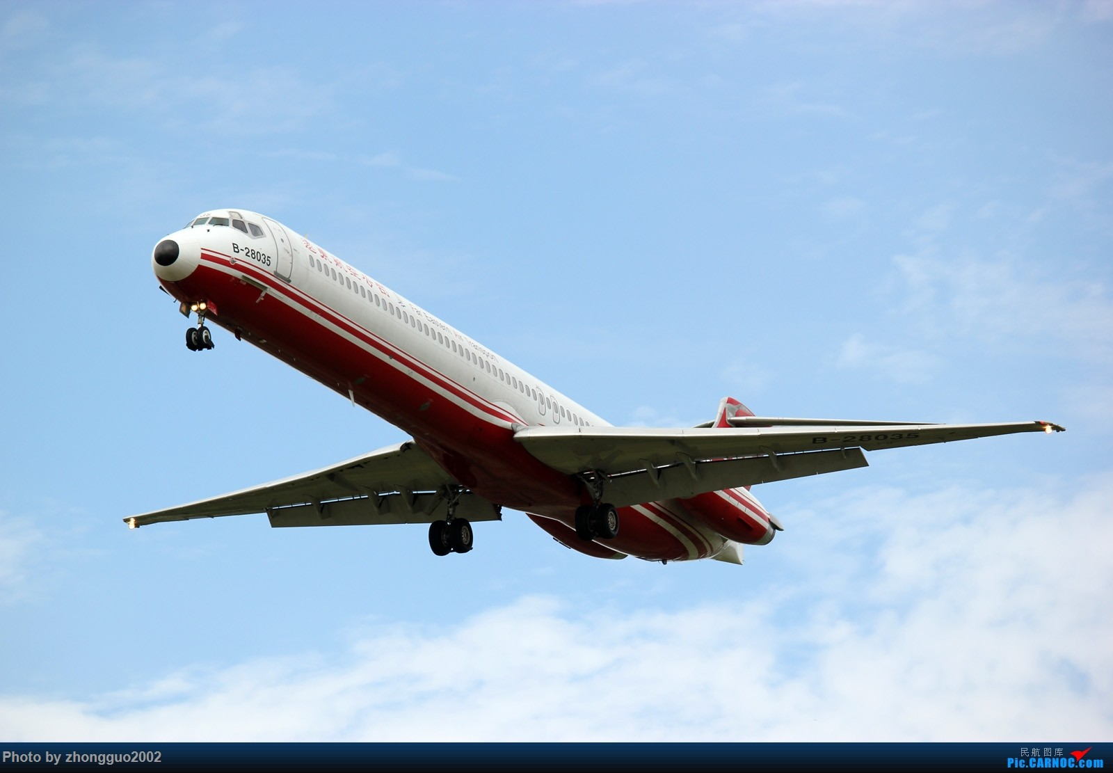 Re:[原创]谨以此片献给这个夏天最美丽的草原城----呼和浩特。 MD MD-80-82 B-28035 中国呼和浩特白塔国际机场