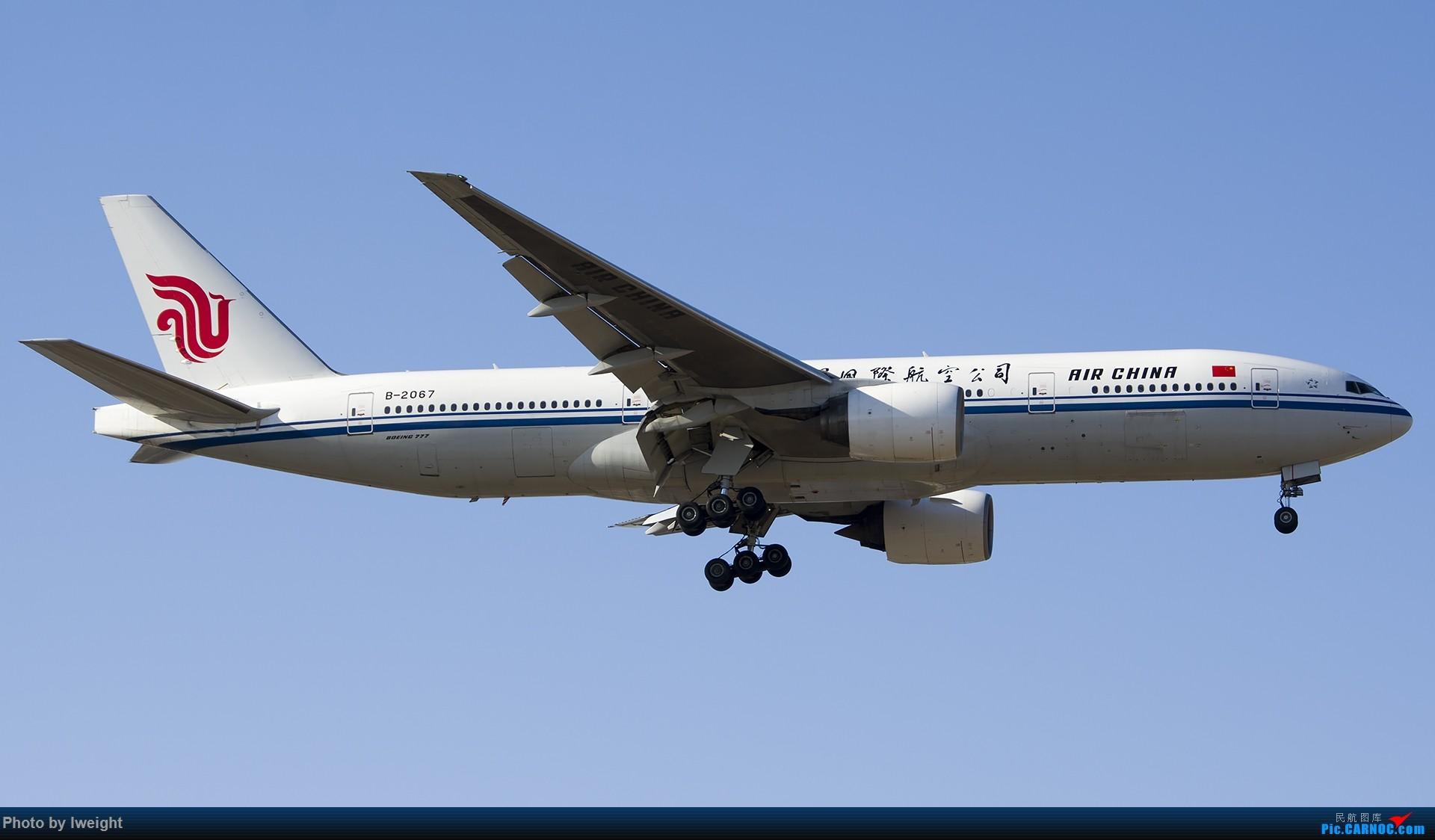 Re:[原创]2015-01-01守在01跑道…… BOEING 777-200 B-2067 中国北京首都国际机场