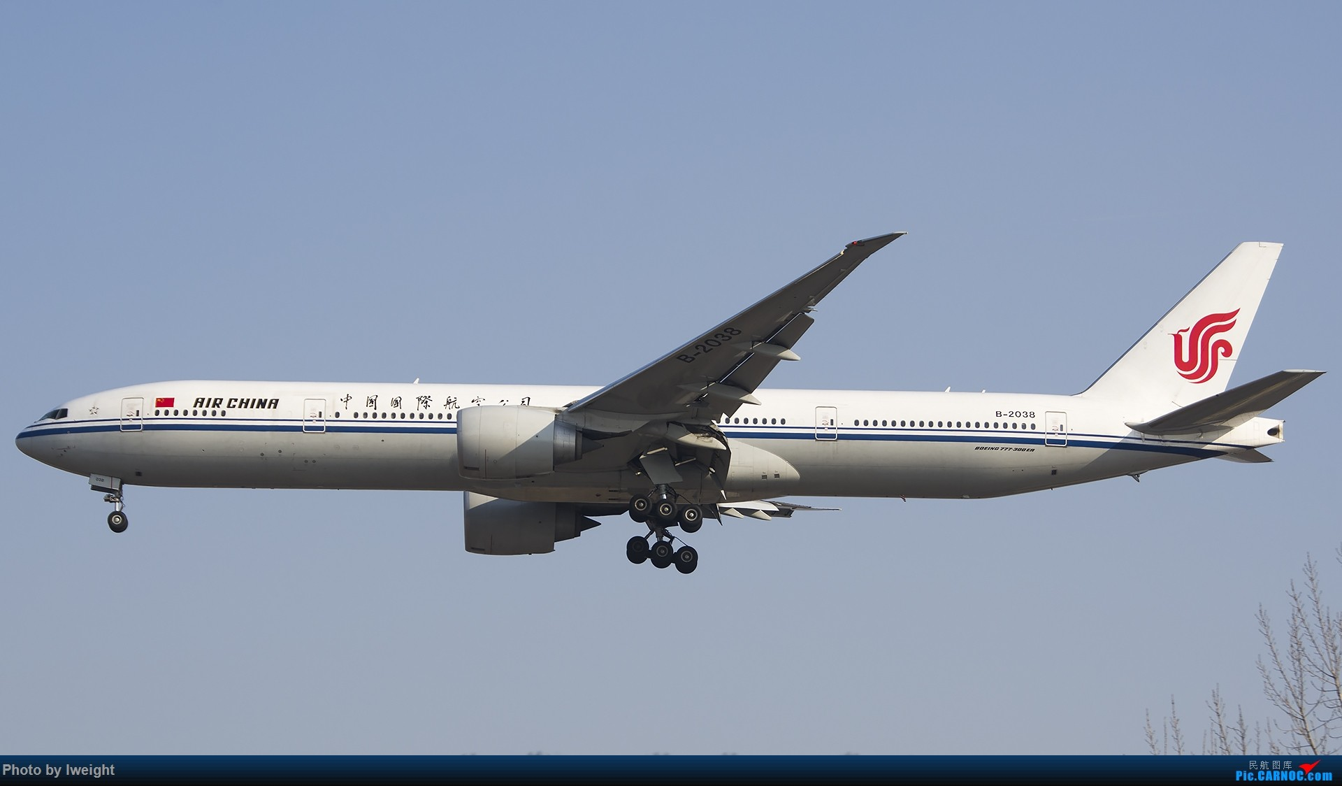 Re:[原创]2015-01-01守在01跑道…… BOEING 777-300ER B-2038 中国北京首都国际机场