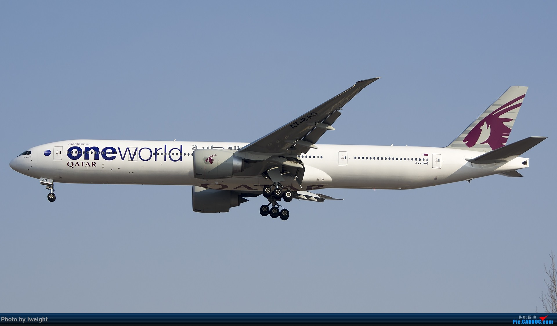Re:[原创]2015-01-01守在01跑道…… BOEING 777-300ER A7-BAG 中国北京首都国际机场