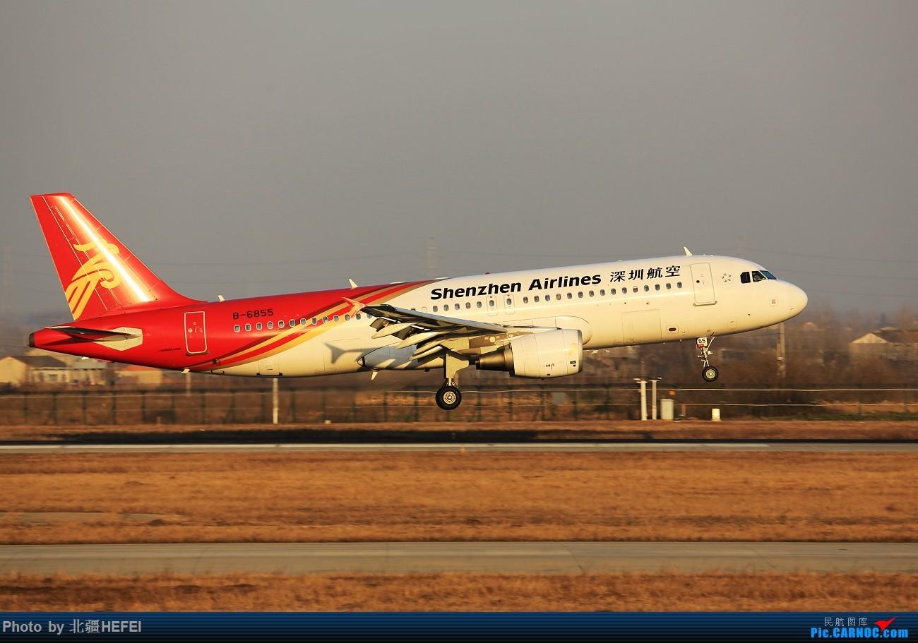 Re:新桥 新年快乐! AIRBUS A320-200 B-6855 合肥新桥国际机场