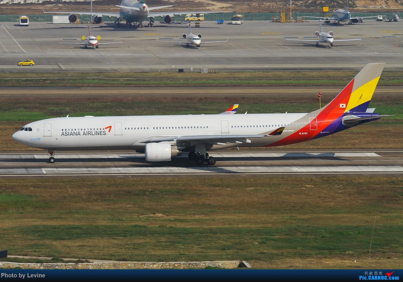 Re:[原创]2015第一拍 冬日暖阳 怎么都拍不腻 AIRBUS A330-300 HL8282 中国深圳宝安国际机场