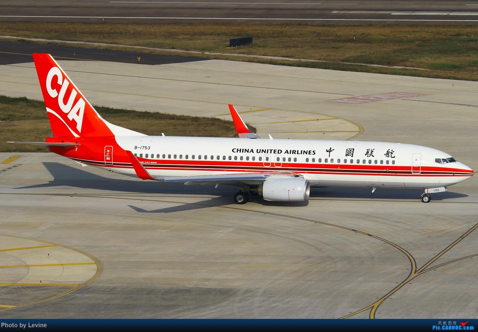Re:[原创]2015第一拍 冬日暖阳 怎么都拍不腻 BOEING 737-800 B-1753 中国深圳宝安国际机场