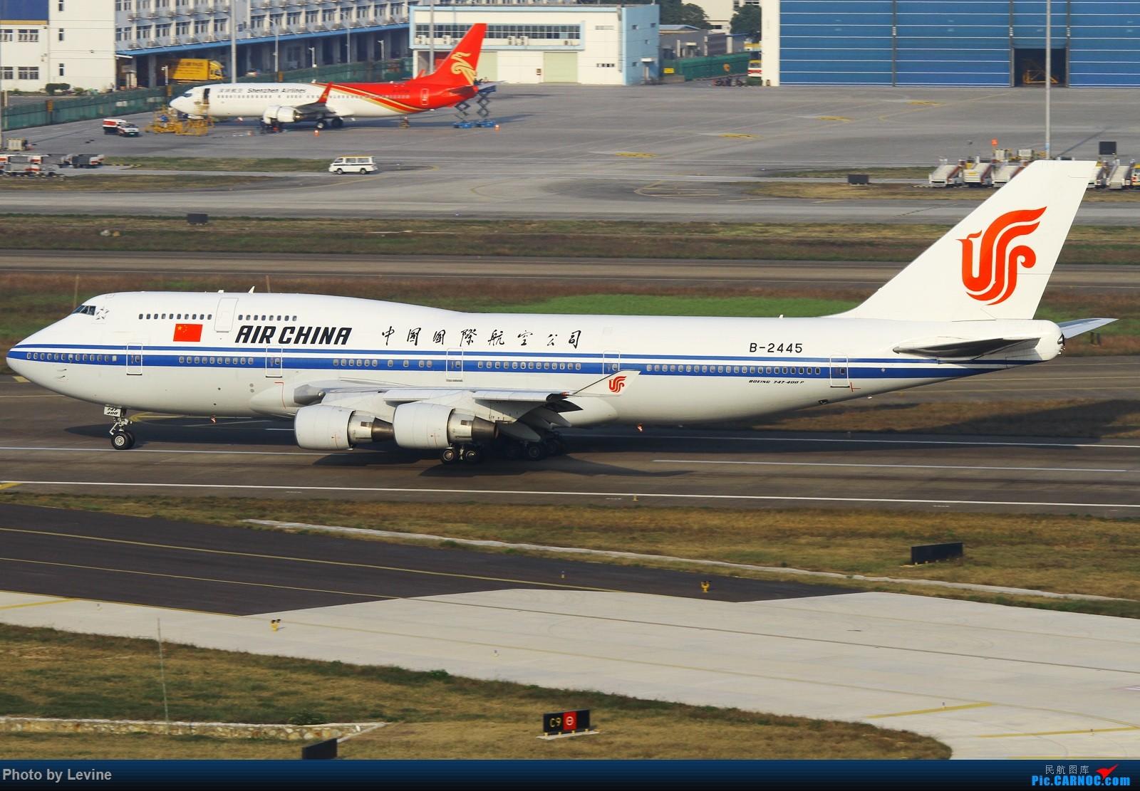 Re:[原创]2015第一拍 冬日暖阳 怎么都拍不腻 BOEING 747-400 B-2445 中国深圳宝安国际机场