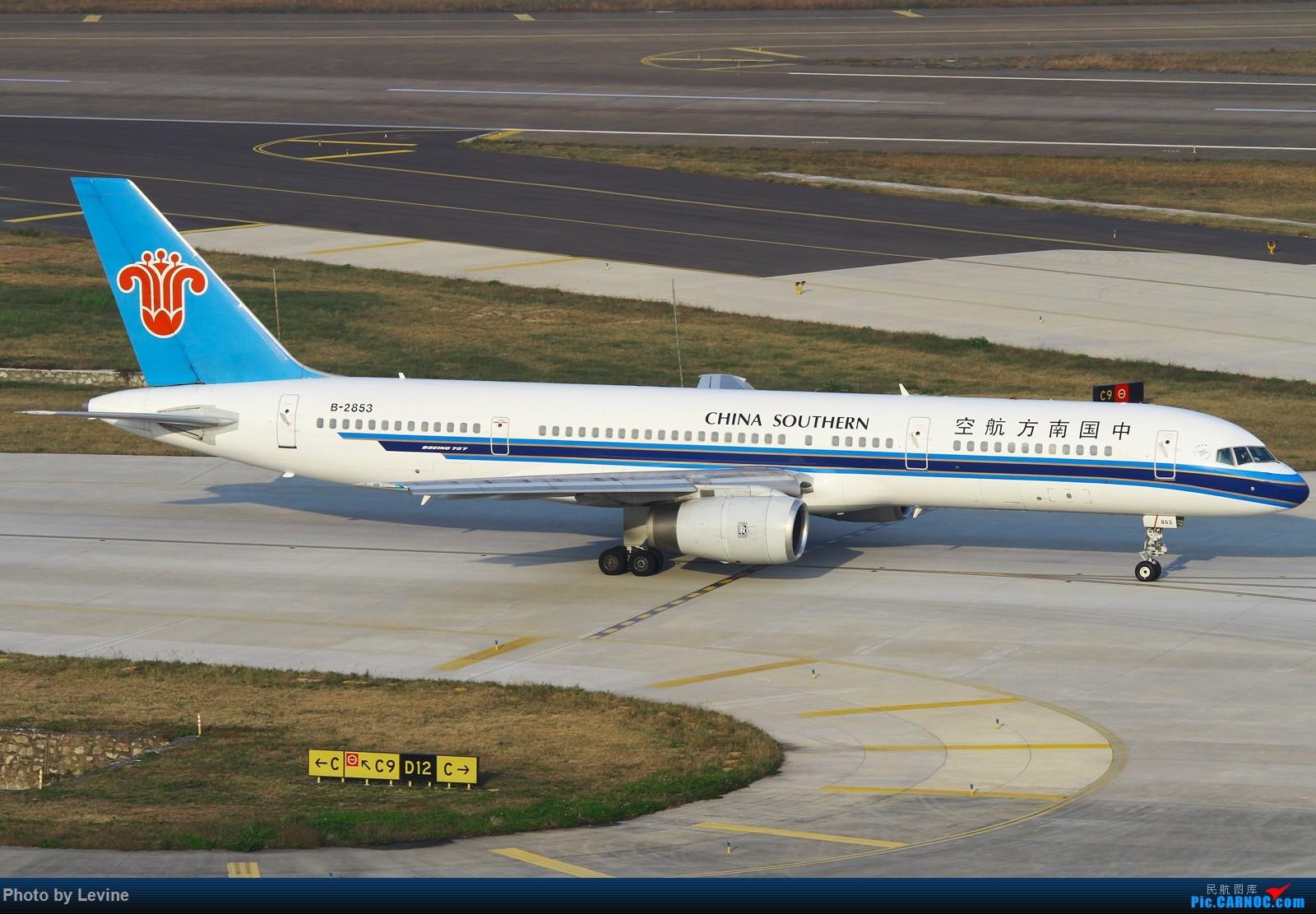 Re:[原创]2015第一拍 冬日暖阳 怎么都拍不腻 BOEING 757-200 B-2853 中国深圳宝安国际机场