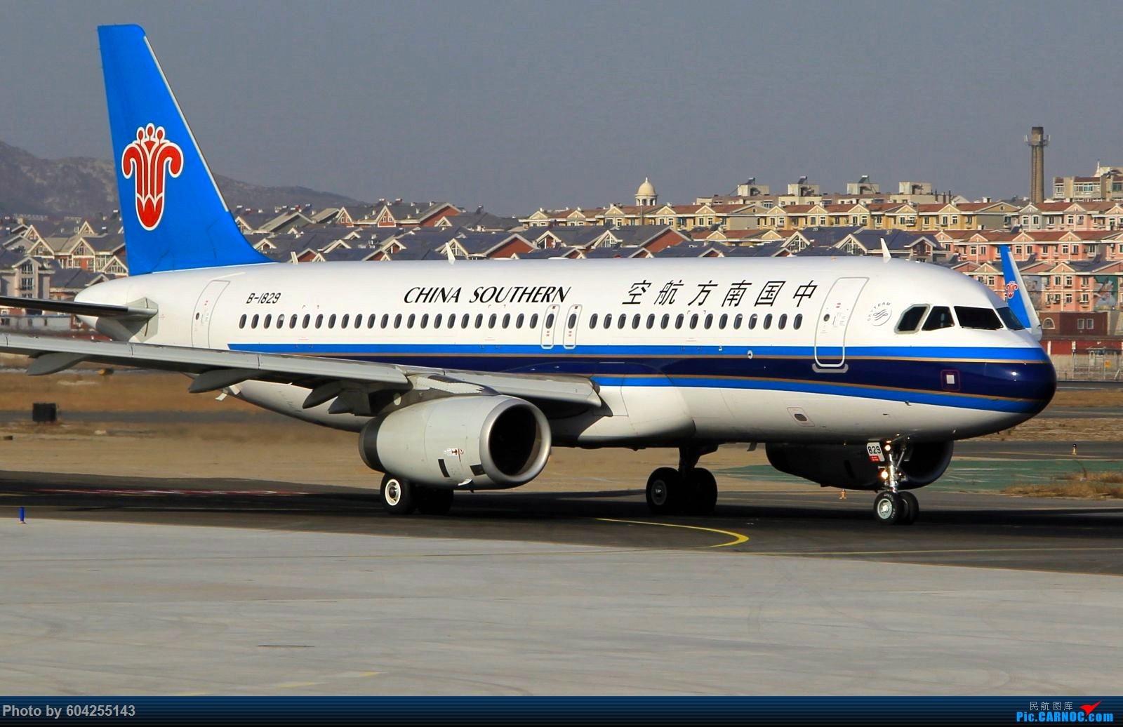 Re:[原创]渣图几张,没想到美图修完压缩的这么严重 AIRBUS A320-200 B-1829 中国大连周水子国际机场