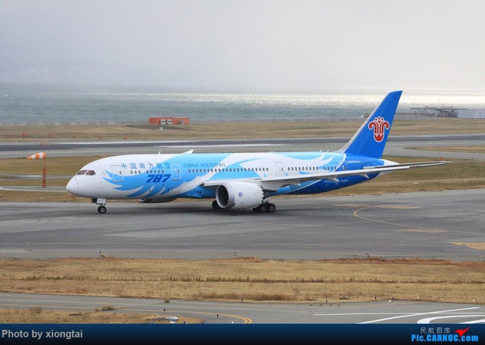Re:欢迎南航执行B787 广州/大阪航线 BOEING 787-8 B-2725 日本关西机场