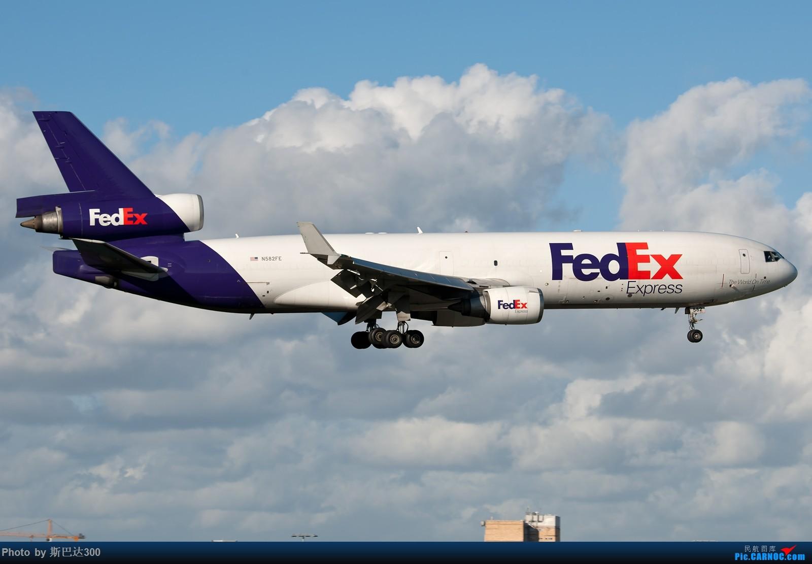 Re:继续发几张1600大图 MCDONNELL DOUGLAS MD-11 N582FE 澳大利亚悉尼金斯福德·史密斯机场