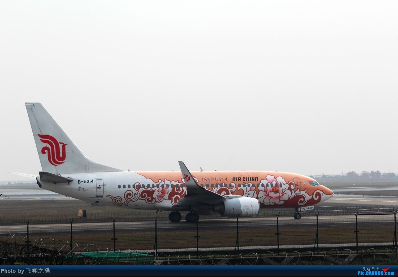 Re:[原创]2015年在CKG第一拍(芬航333罂粟彩绘,国航773大爱中国,海航332) BOEING 737-700 B-5214 重庆江北国际机场