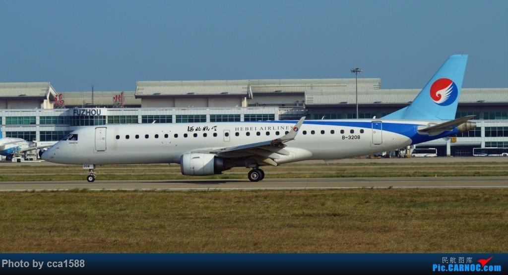 Re:[原创]FOC随打~大运号VS央广电台 EMBRAER E-190 B-3208 中国福州长乐国际机场
