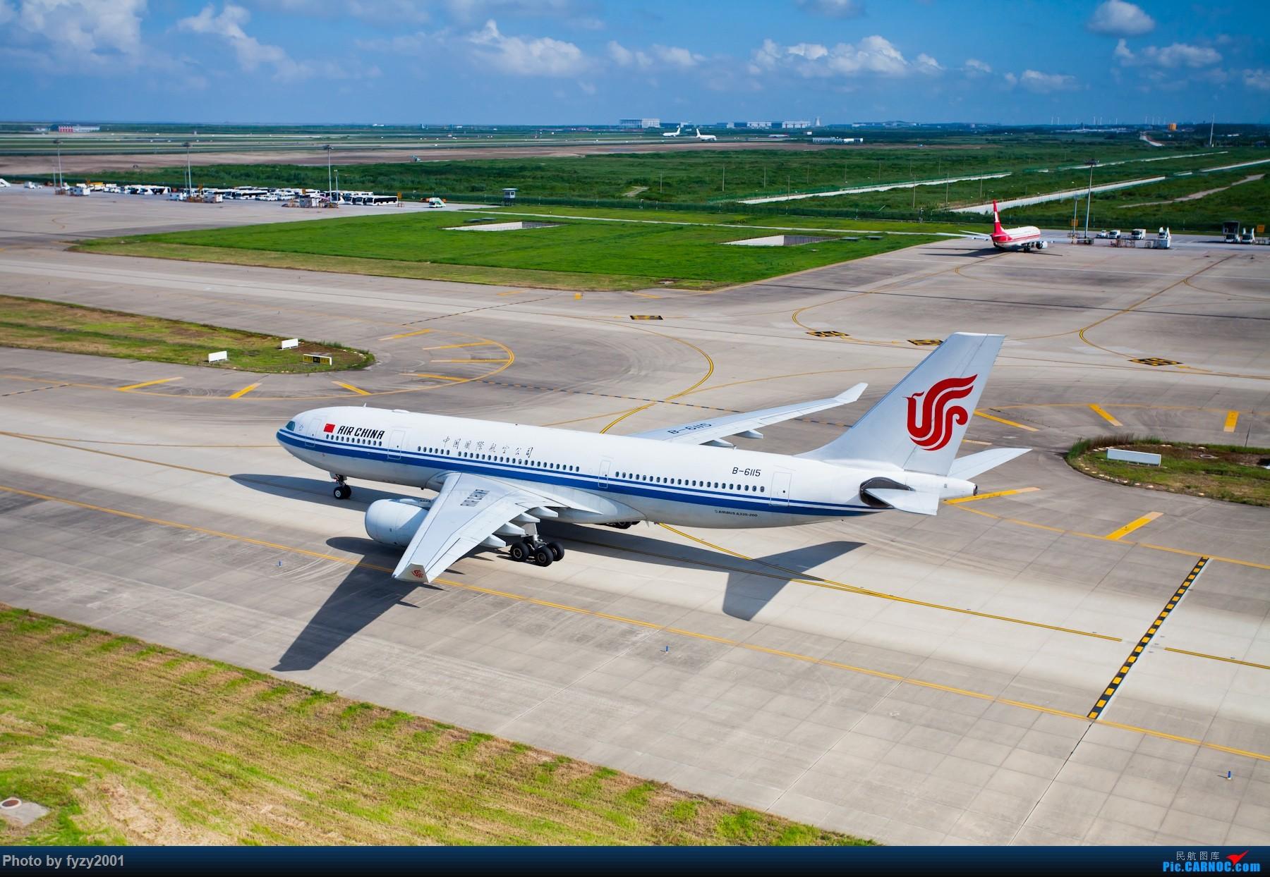 Re:[原创][无锡西站]炎炎夏日里的PVG~~~~(大图) AIRBUS A330-200 B-6115 中国上海浦东国际机场