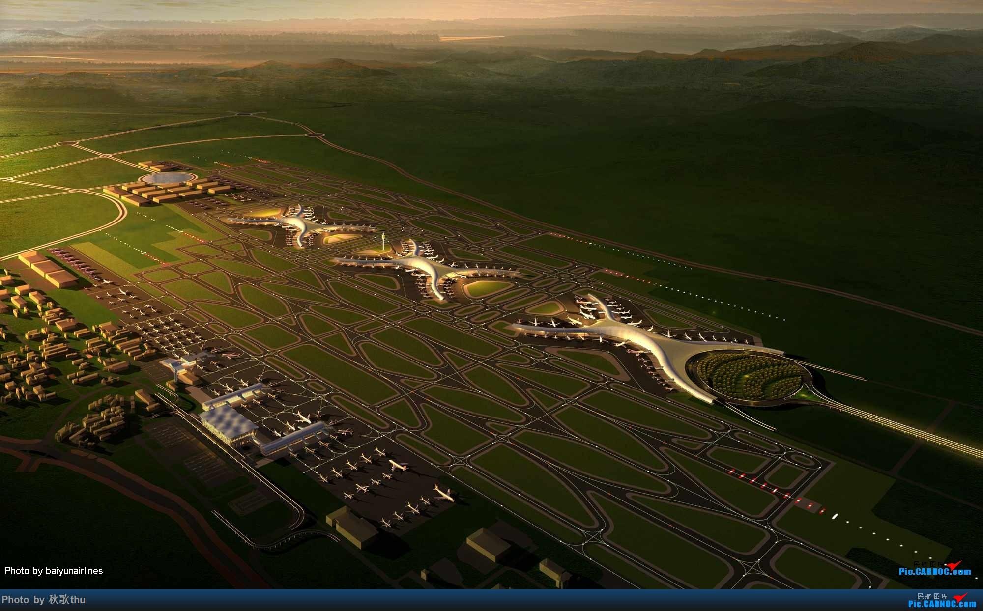 Re:[讨论]求汇总各路机场的终极建设规划图    中国重庆江北国际机场