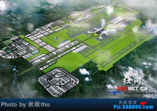 Re:[讨论]求汇总各路机场的终极建设规划图    中国长沙黄花国际机场