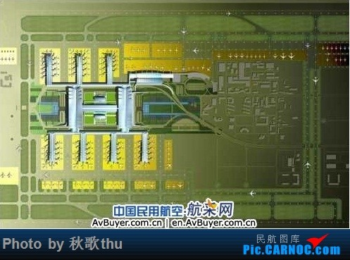 Re:[讨论]求汇总各路机场的终极建设规划图    中国西安咸阳国际机场