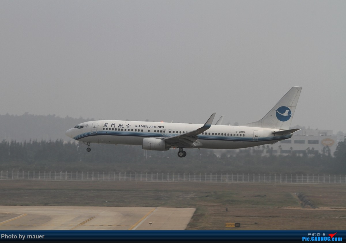 Re:[原创]【福州飞友会】FOC的新角度新公司!青岛航空FOC首航! BOEING 737-800 B-5385