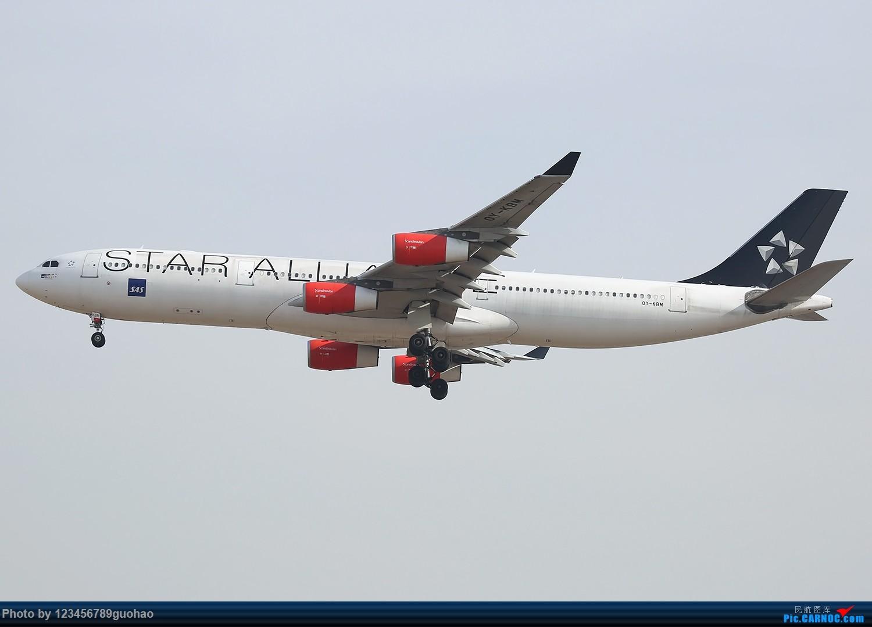 Re:[原创]一图党-SAS大星星 AIRBUS A340-300 OY-KBM 北京首都机场