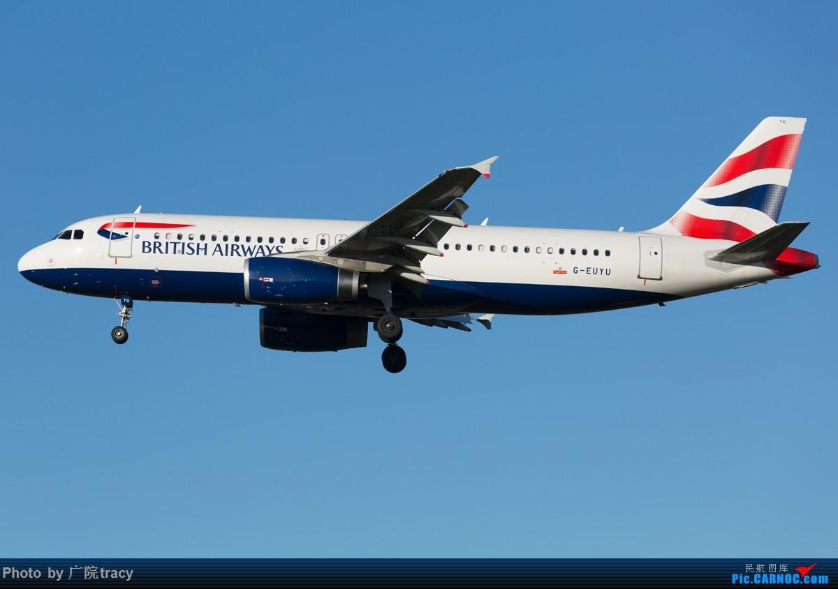 [原创]半年没有上论坛,这次回来就要给大家带来绝对劲爆的图片,伦敦希斯罗大蓝天,海湾航空F1彩绘,克罗地亚星空联盟320,墨西哥787,备降LHR的肯尼亚77W AIRBUS A320 G-EUYU 伦敦希斯罗机场
