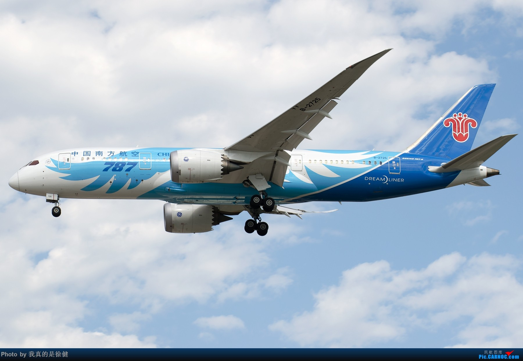 [原创]【多图党】1800x1200 来一组Boeing787 PEK/ZBAA的日常 BOEING 787-8 B-2725 中国北京首都国际机场