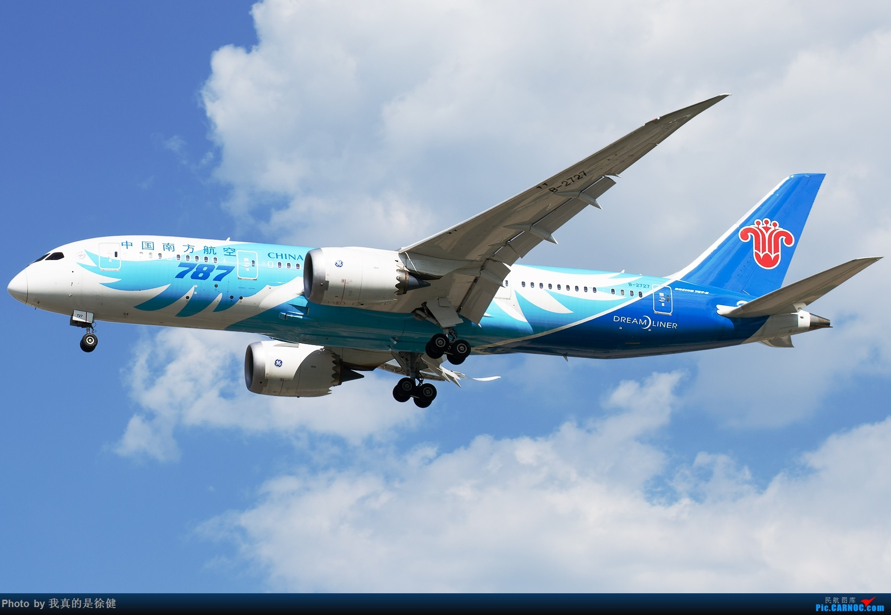 Re:[原创]【多图党】1800x1200 来一组Boeing787 PEK/ZBAA的日常 BOEING 787-8 B-2727 中国北京首都国际机场