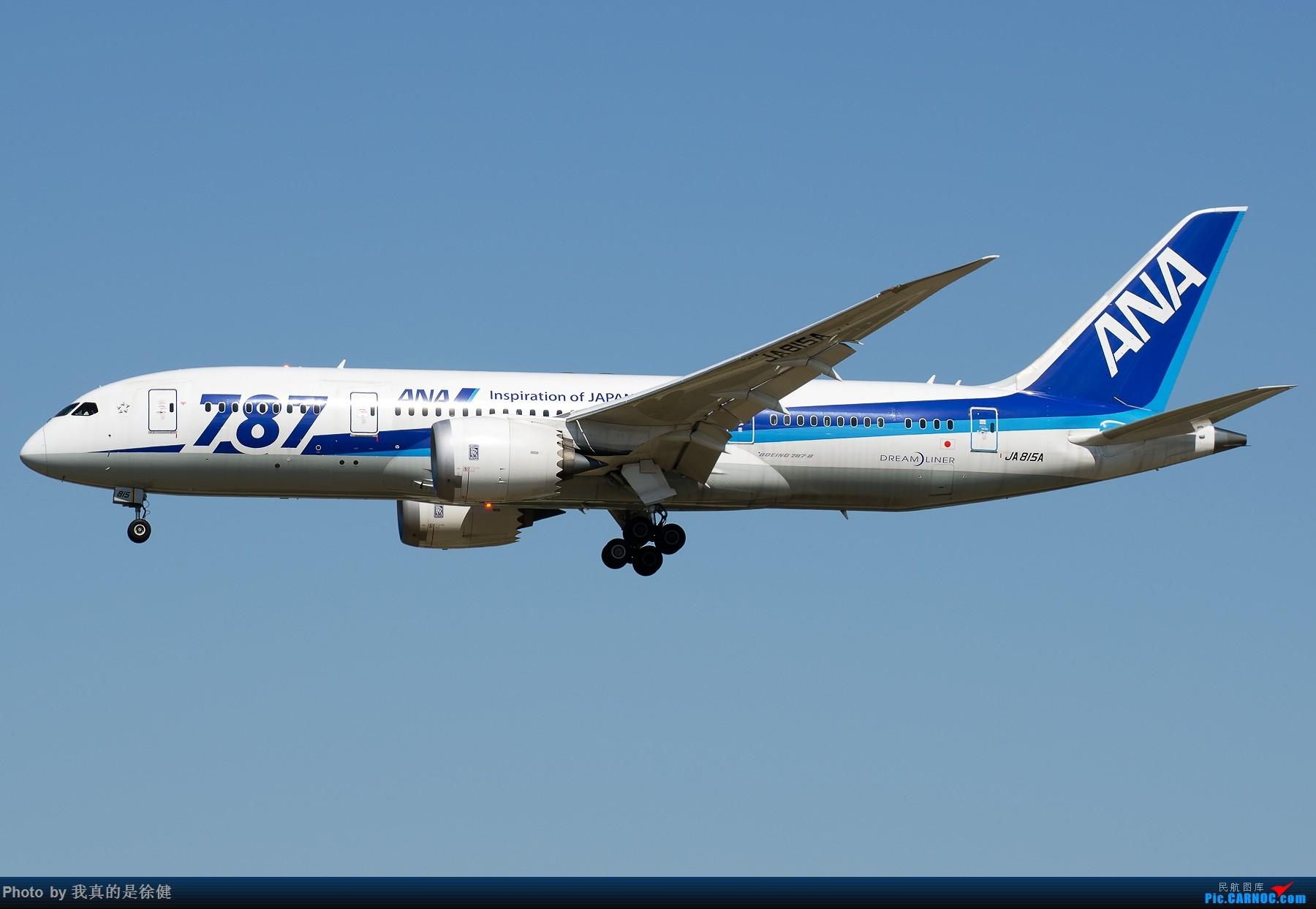 Re:[原创]【多图党】1800x1200 来一组Boeing787 PEK/ZBAA的日常 BOEING 787-8 JA815A 中国北京首都国际机场
