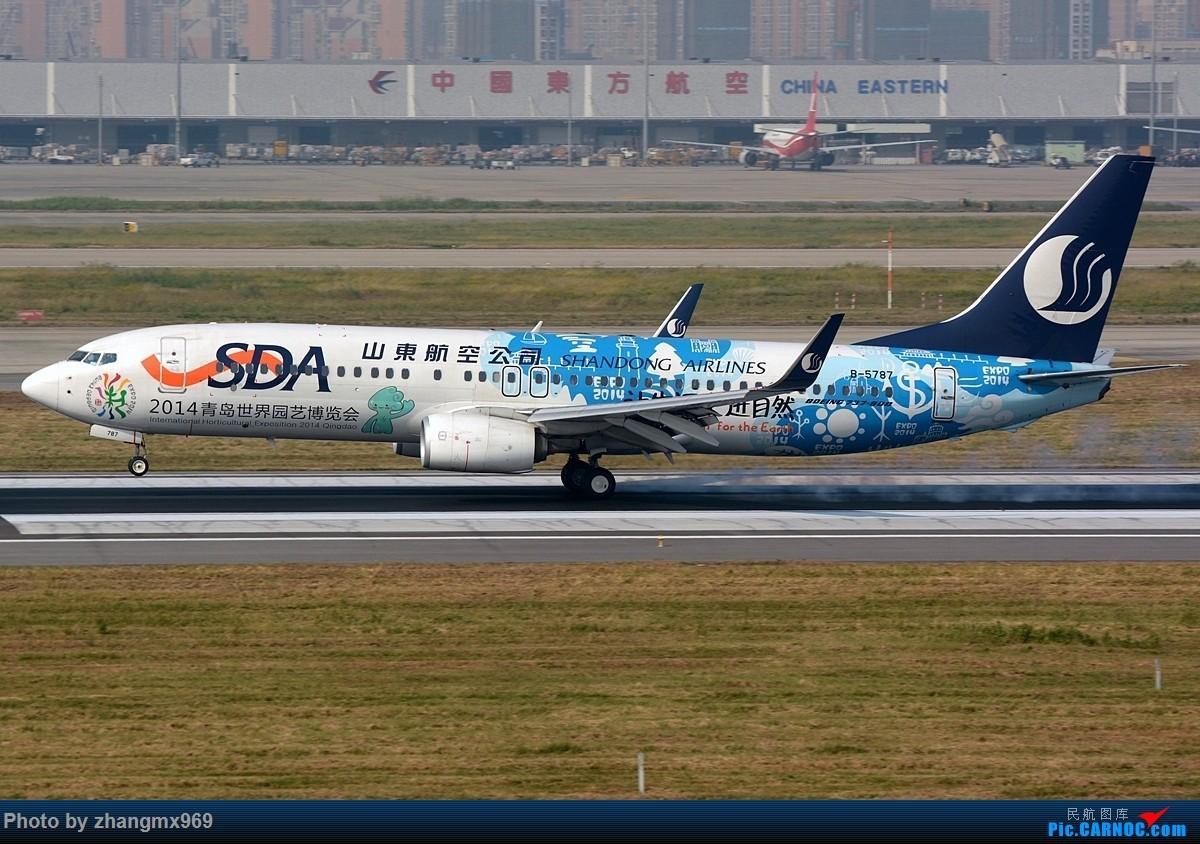 Re:[原创]发一组擦烟,纪念又一个逝去的神位 BOEING 737-800 B-5787 中国上海虹桥国际机场
