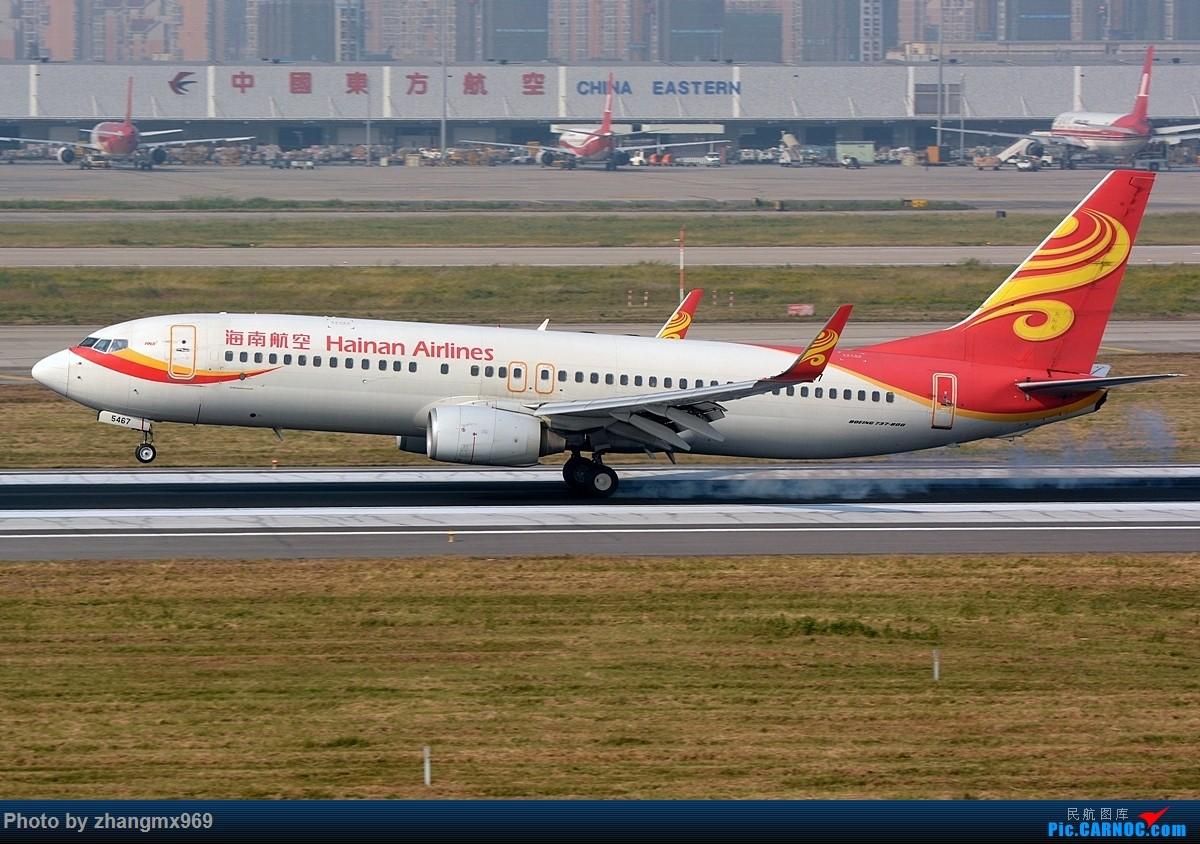 Re:[原创]发一组擦烟,纪念又一个逝去的神位 BOEING 737-800 B-5467 中国上海虹桥国际机场