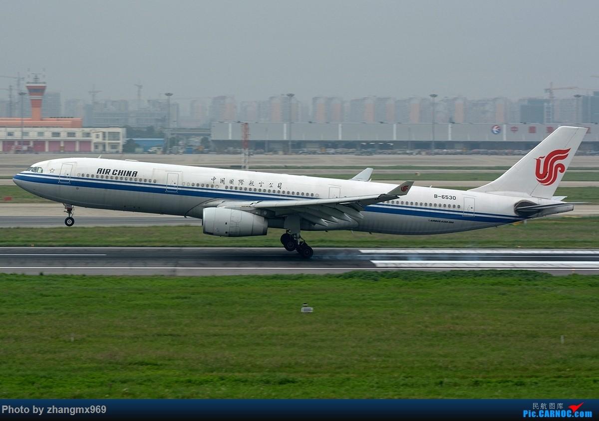 Re:[原创]发一组擦烟,纪念又一个逝去的神位 AIRBUS A330-300 B-6530 中国上海虹桥国际机场