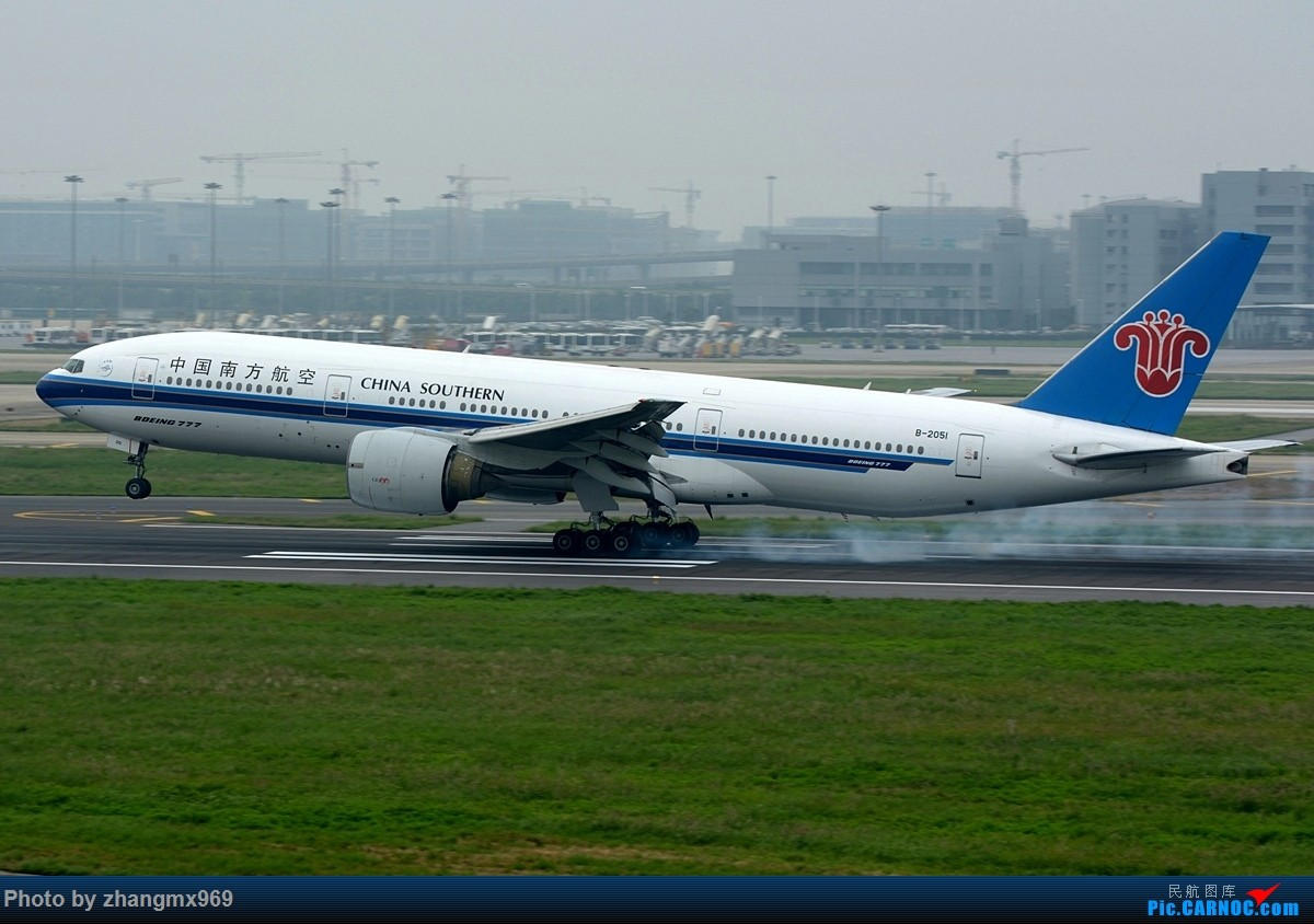 Re:[原创]发一组擦烟,纪念又一个逝去的神位 BOEING 777-200 B-2051 中国上海虹桥国际机场
