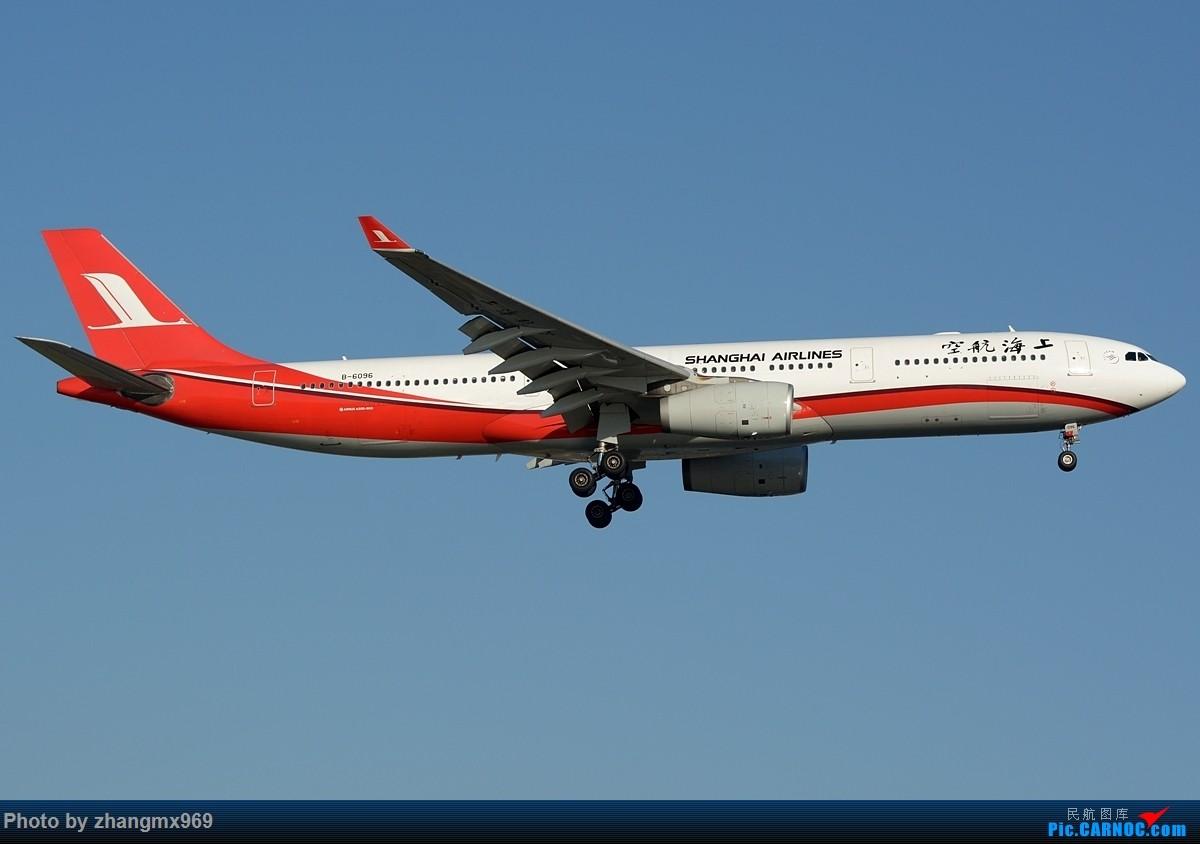 Re:[原创]蓝天 AIRBUS A330-300 B-6096 中国上海虹桥国际机场