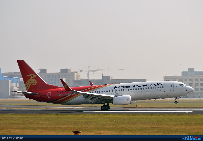 [原创]其实我也去过小树林 BOEING 737-800 B-5778 中国沈阳桃仙国际机场