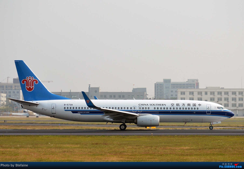 Re:[原创]其实我也去过小树林 BOEING 737-800 B-5739 中国沈阳桃仙国际机场