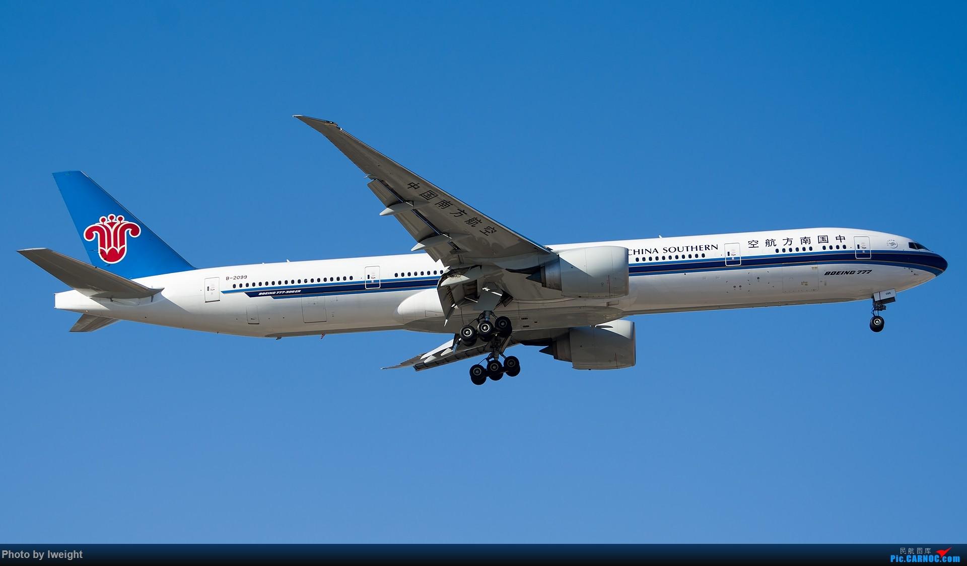 Re:[原创]北京难得的好天气,随手拍了一些渣图【2015-01-27】 BOEING 777-300ER B-2099 中国北京首都国际机场