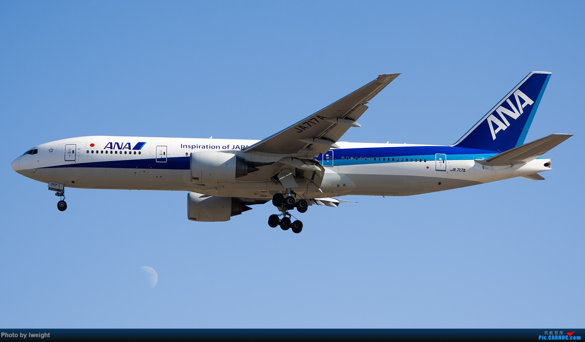 Re:[原创]北京难得的好天气,随手拍了一些渣图【2015-01-27】 BOEING 777-200 JA717A 中国北京首都国际机场