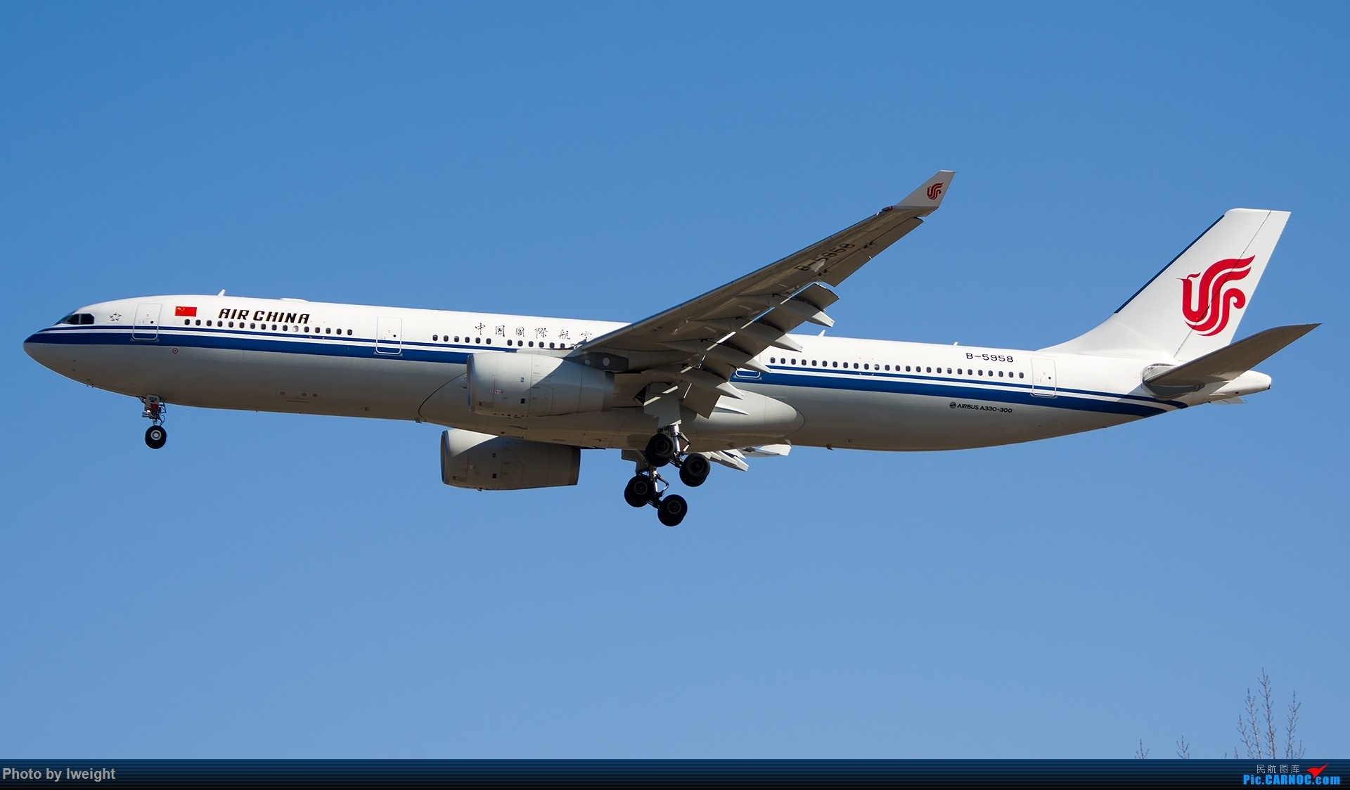 Re:[原创]北京难得的好天气,随手拍了一些渣图【2015-01-27】 AIRBUS A330-300 B-5958 中国北京首都国际机场