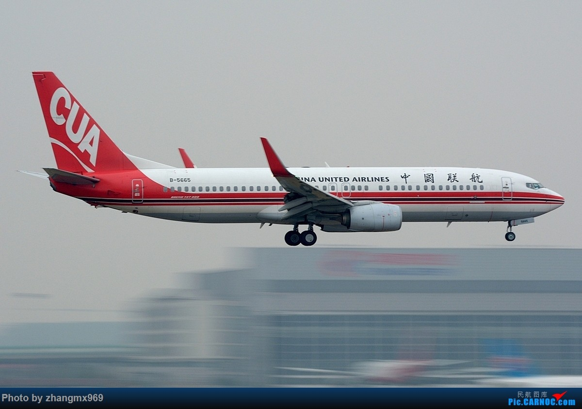 Re:[原创]烂天小动感 BOEING 737-800 B-5665 中国上海虹桥国际机场