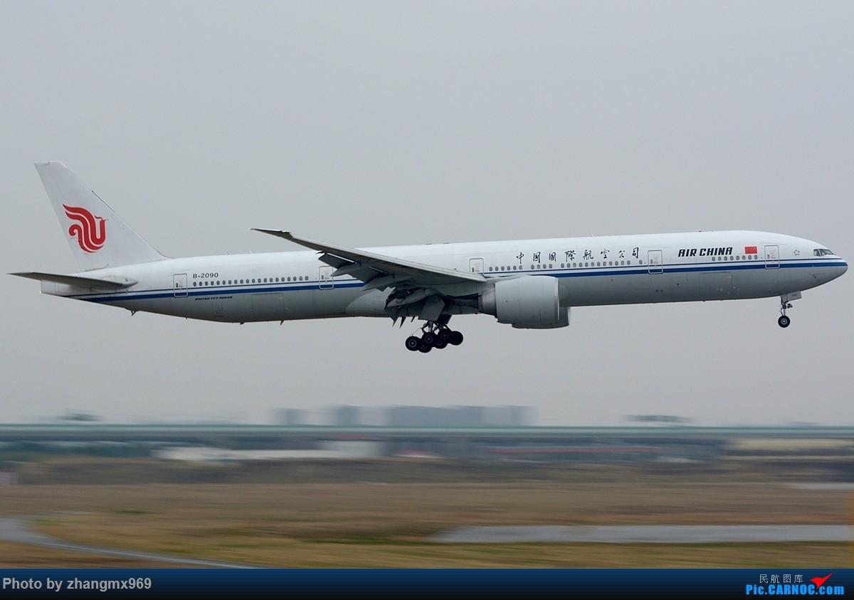 Re:[原创]烂天小动感 BOEING 777-300ER B-2090 中国上海虹桥国际机场
