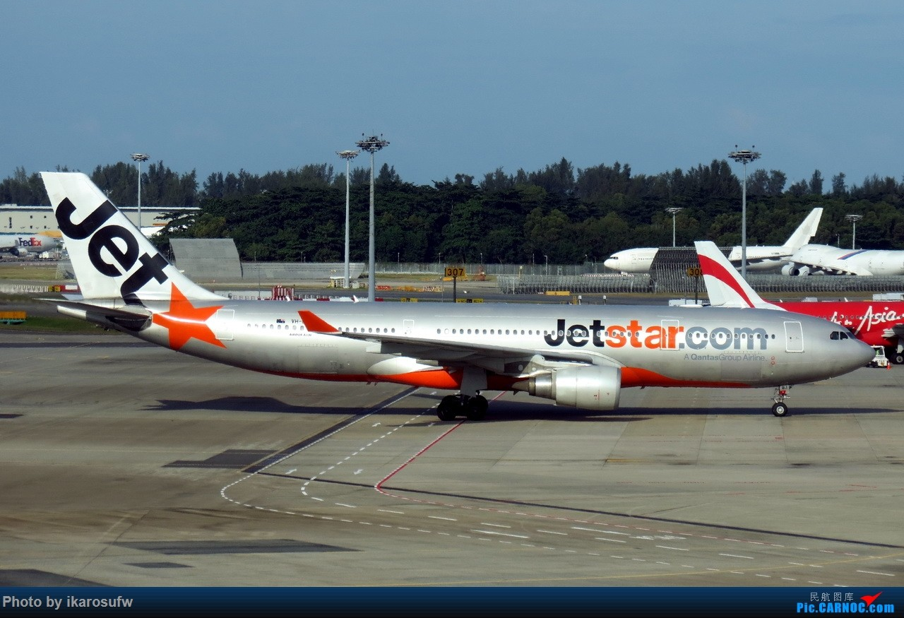 Re:[原创]JetStar捷星航空 A330-200 AIRBUS A330-200 VH-EBJ SIN