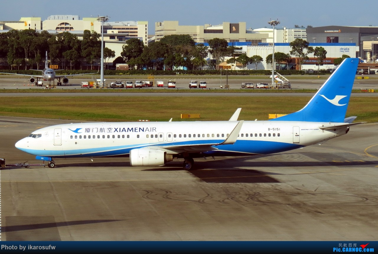 Re:[原创]JetStar捷星航空 A330-200 BOEING 737-800 B-5151 SIN