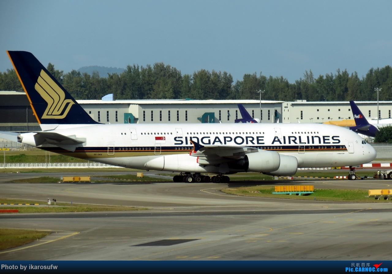 Re:[原创]JetStar捷星航空 A330-200 AIRBUS A380-800 9V-SKN SIN