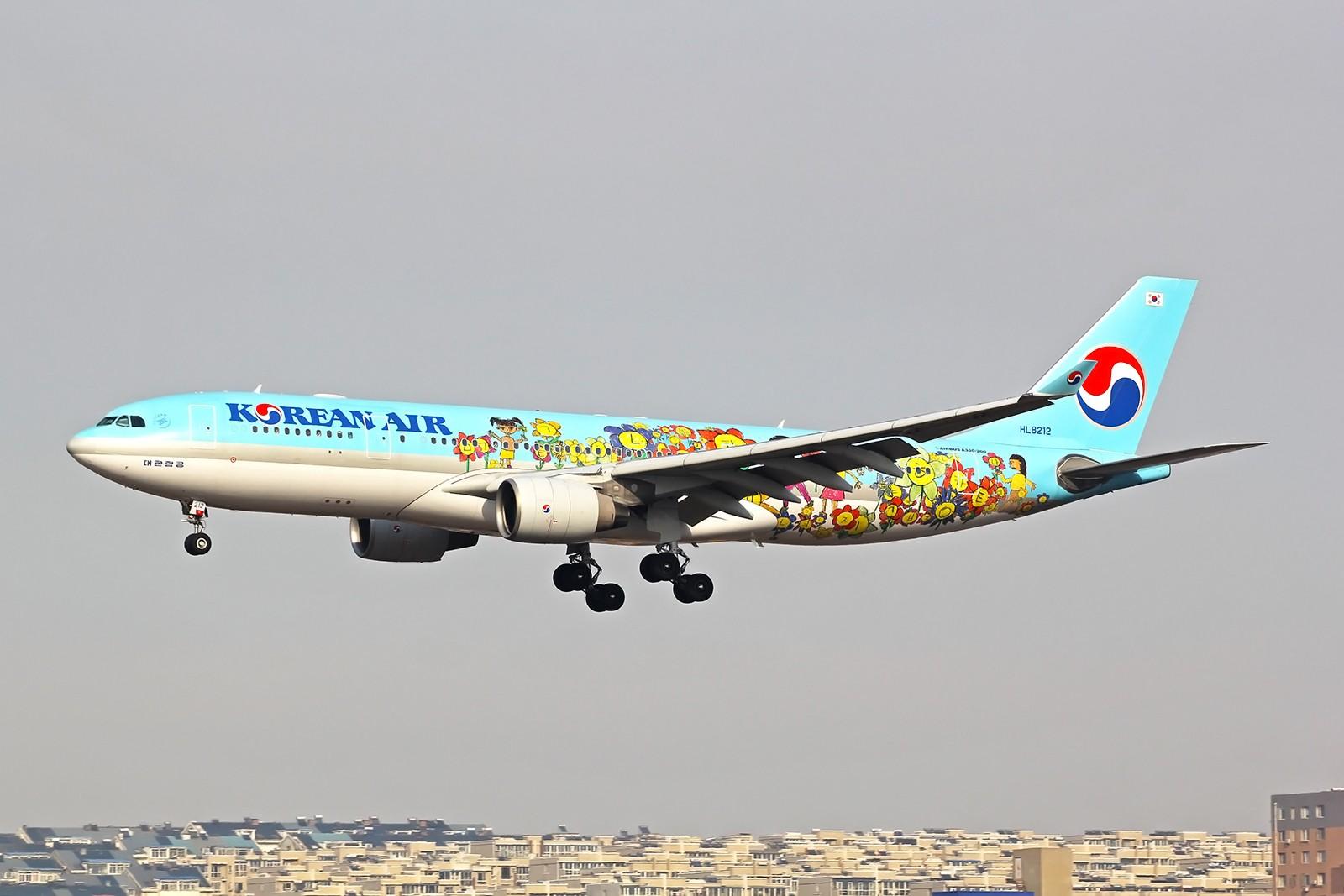 Re:[原创]2015年2月持续贴 AIRBUS A330-200 HL8212 中国大连周水子国际机场