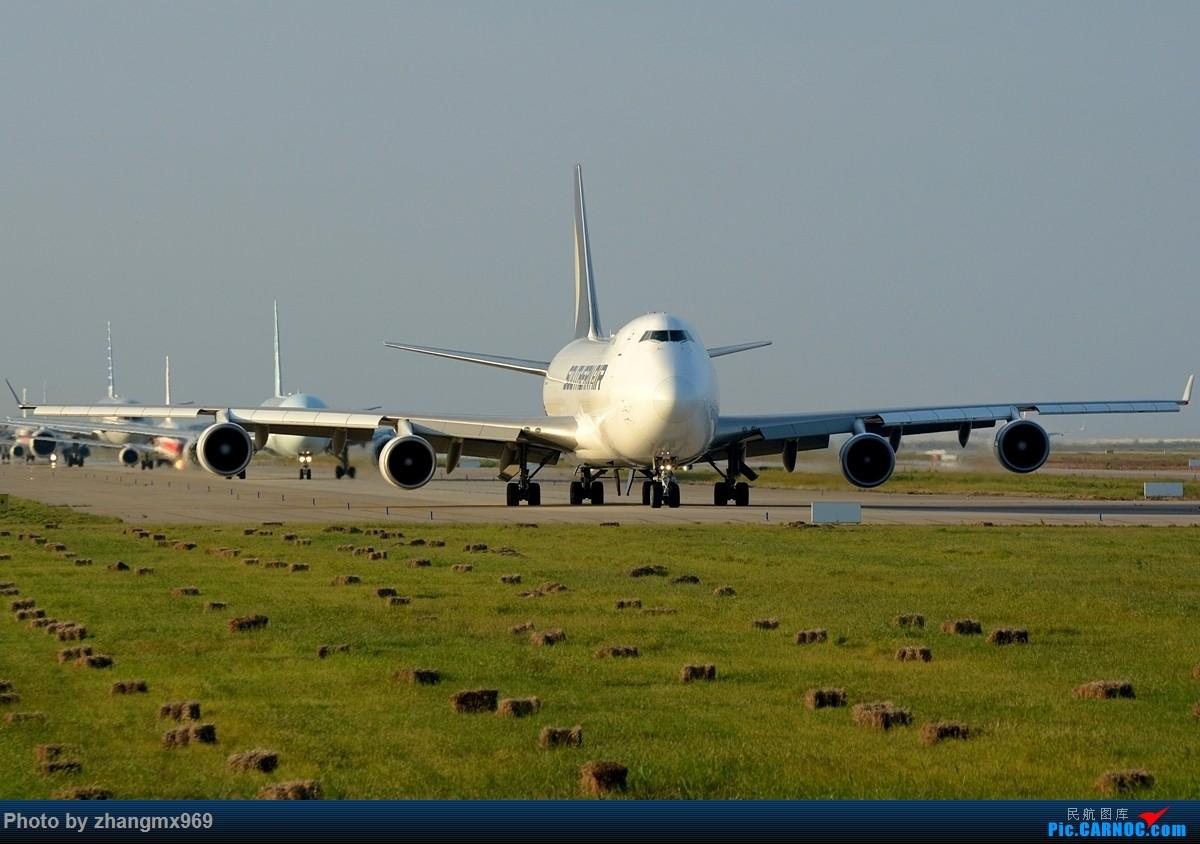 [原创]南航744F,求小飞机 BOEING 747-400 N558CL 中国上海浦东国际机场