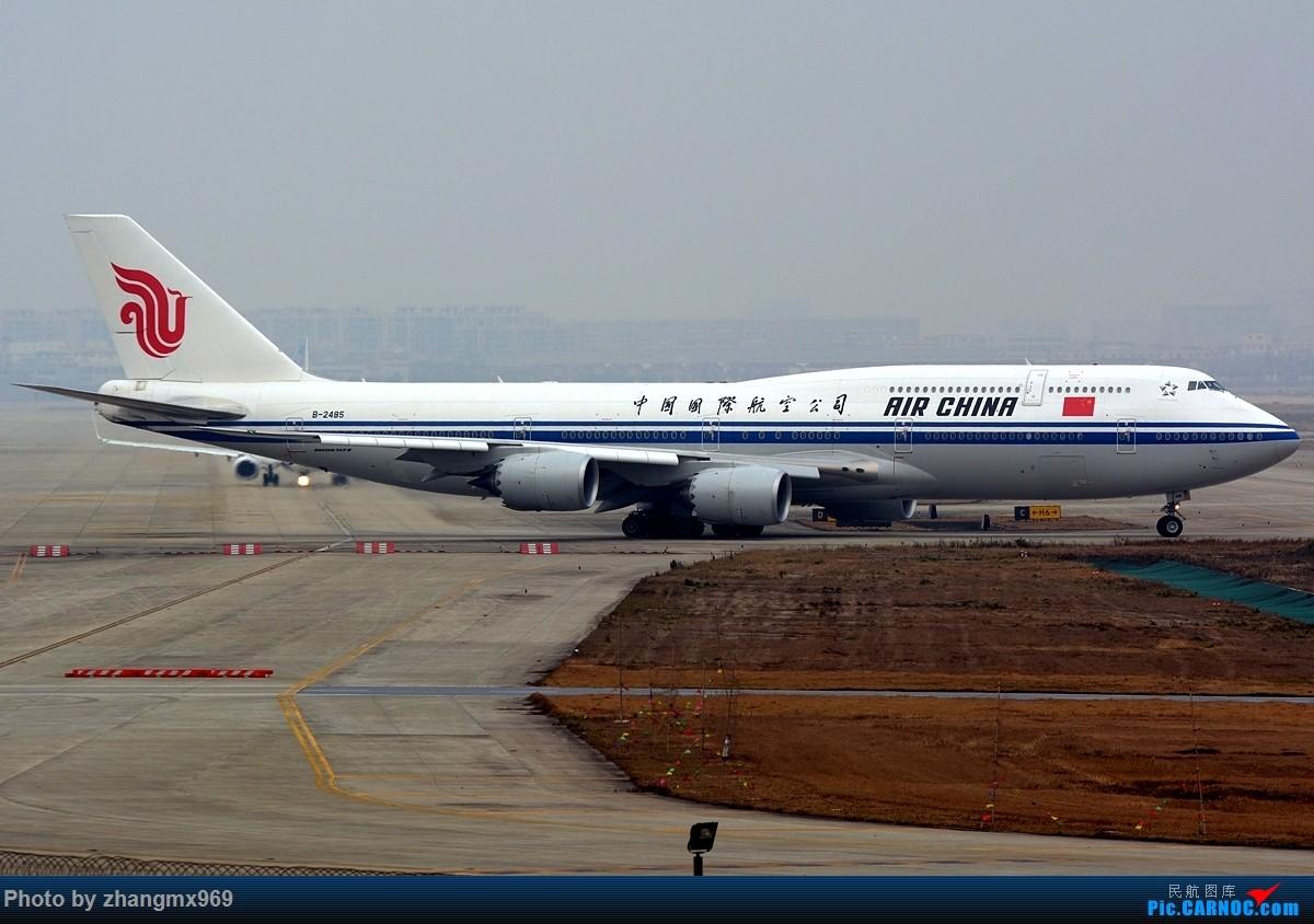 Re:[原创]747-8,B-2485 BOEING 747-8I B-2485 中国上海虹桥国际机场