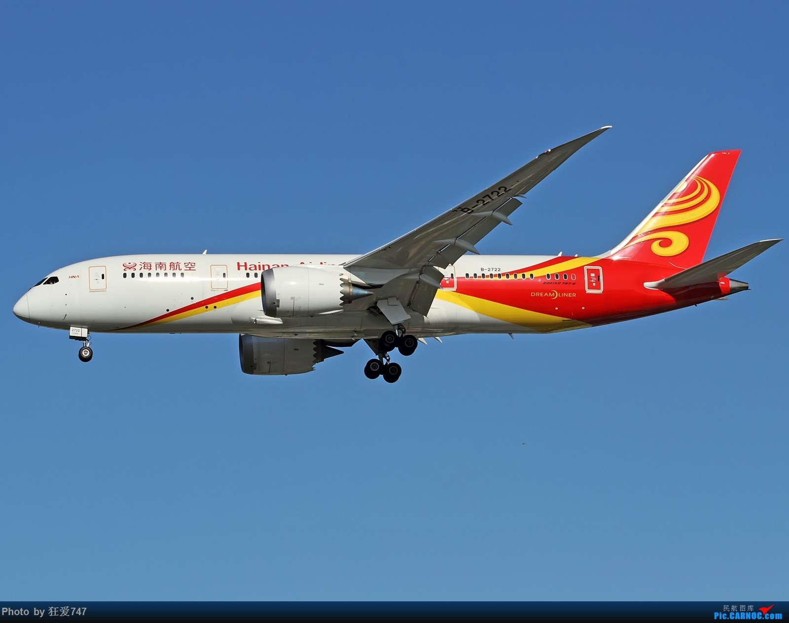 Re:[原创]这些年首都机场的787们 BOEING 787-8 B-2722 中国北京首都国际机场