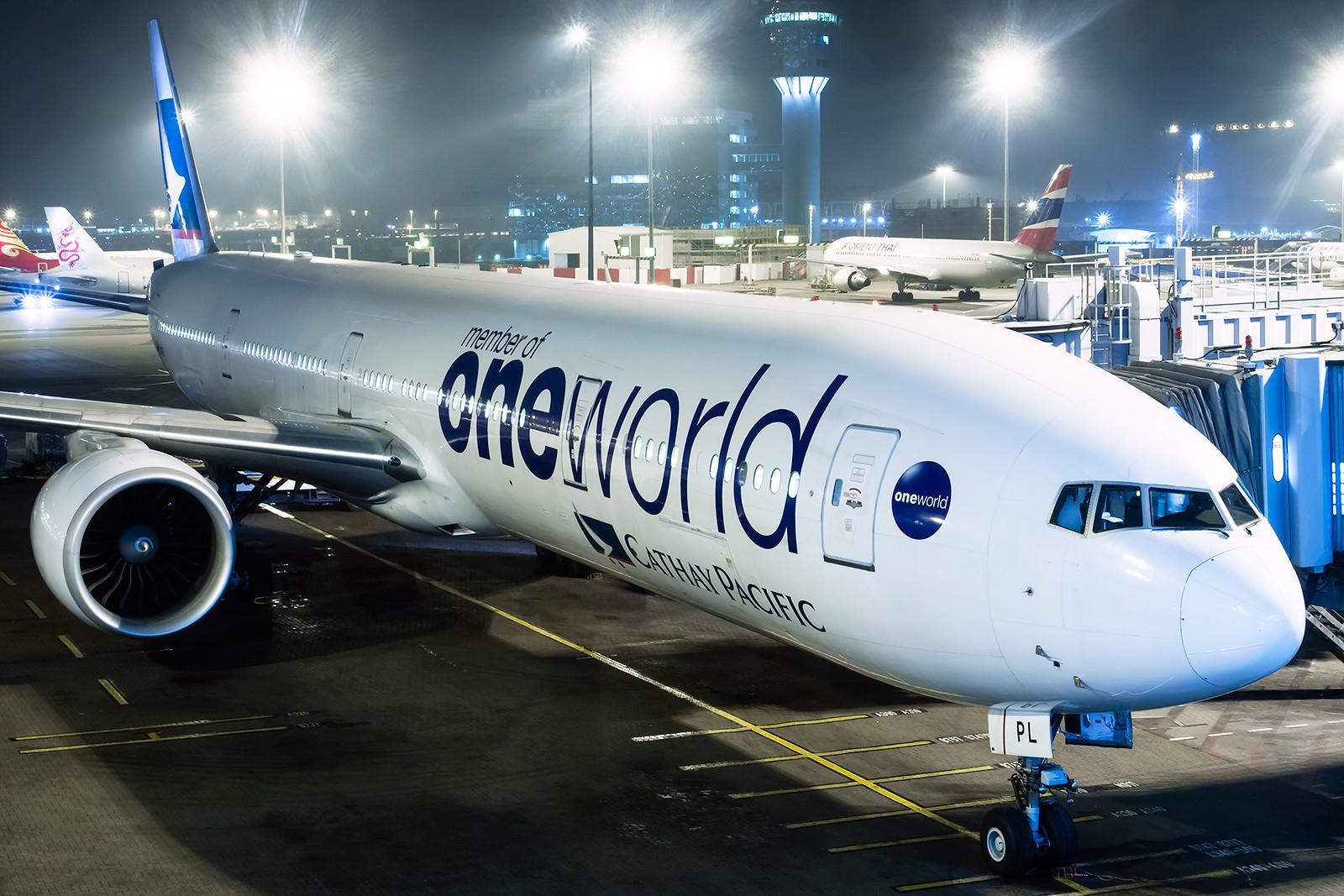 Re:[原创]夜太美 BOEING 777-300ER B-KPL 中国香港赤鱲角国际机场