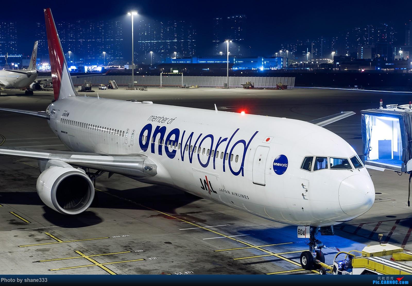 Re:[原创]夜太美 BOEING 767-300 JA604J 中国香港赤鱲角国际机场