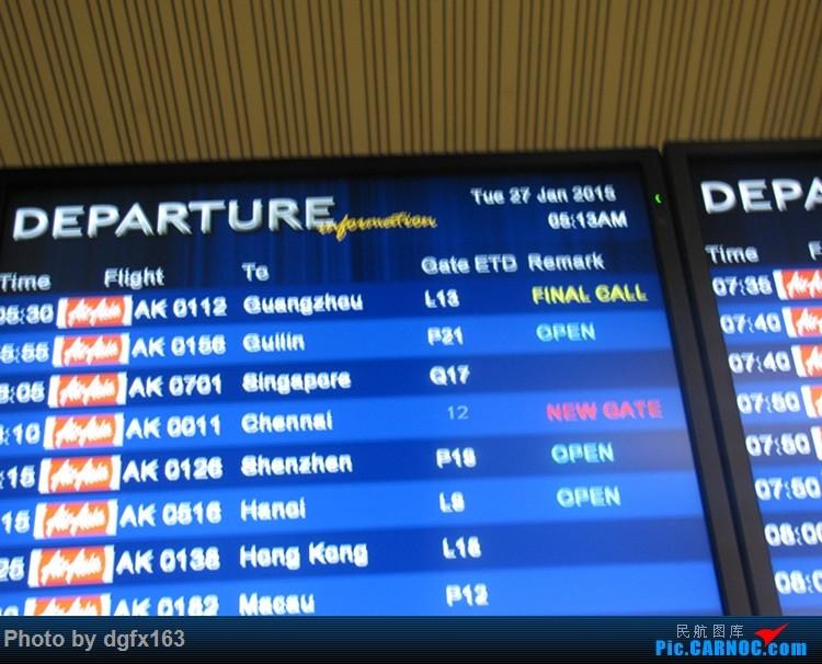 [原创]【dgfx163的游记(3)】亚洲航空 A320-200 吉隆坡(KLIA2)KUL-新加坡SIN 亚航之旅继续,前往最终自由行地点---SIN!!!